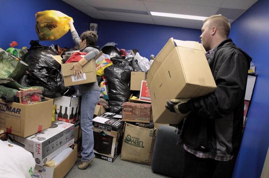 Saskatoon donation centres prepare for refugee arrival