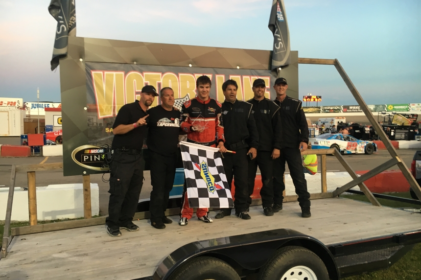 Saskatoon NASCAR race  produces youngest winner ever