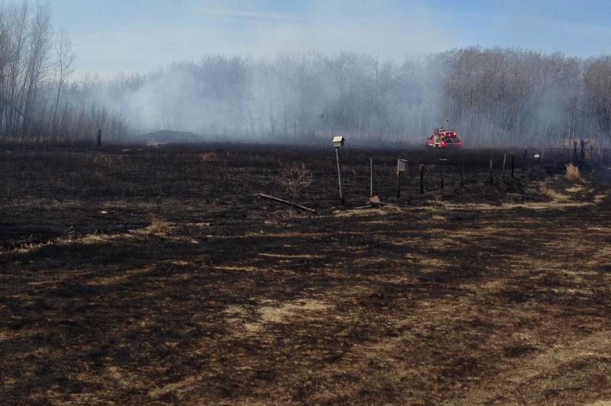 Grass fire season ramps up with 4 blazes near Saskatoon