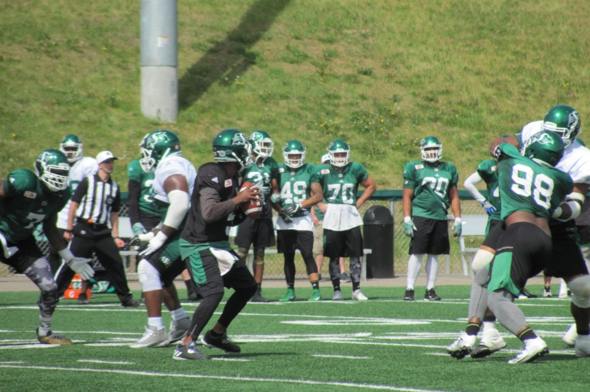 3 things of note from the Riders' green and white game