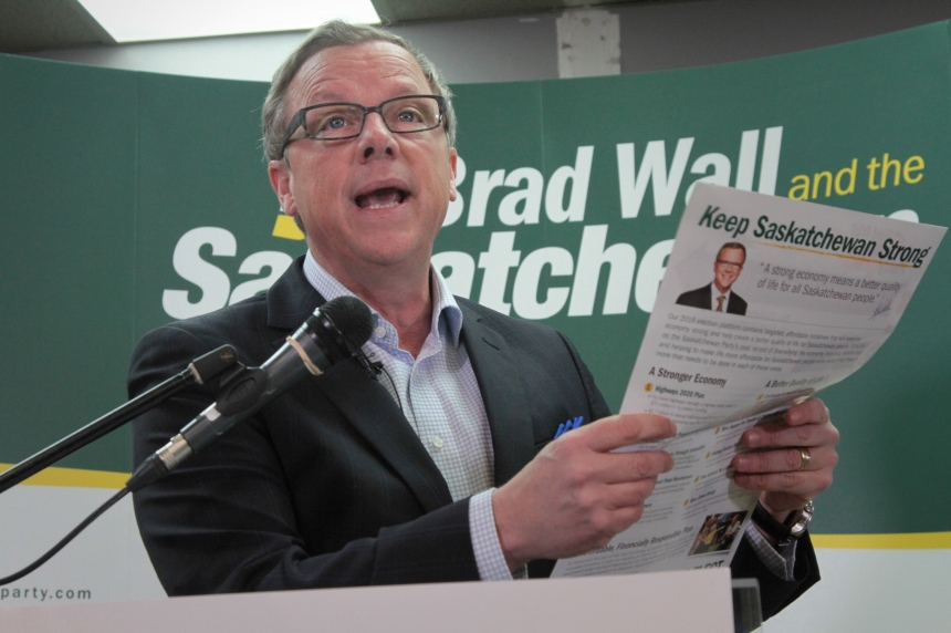 Sask. Party platform touts modest promises, oil sector optimism