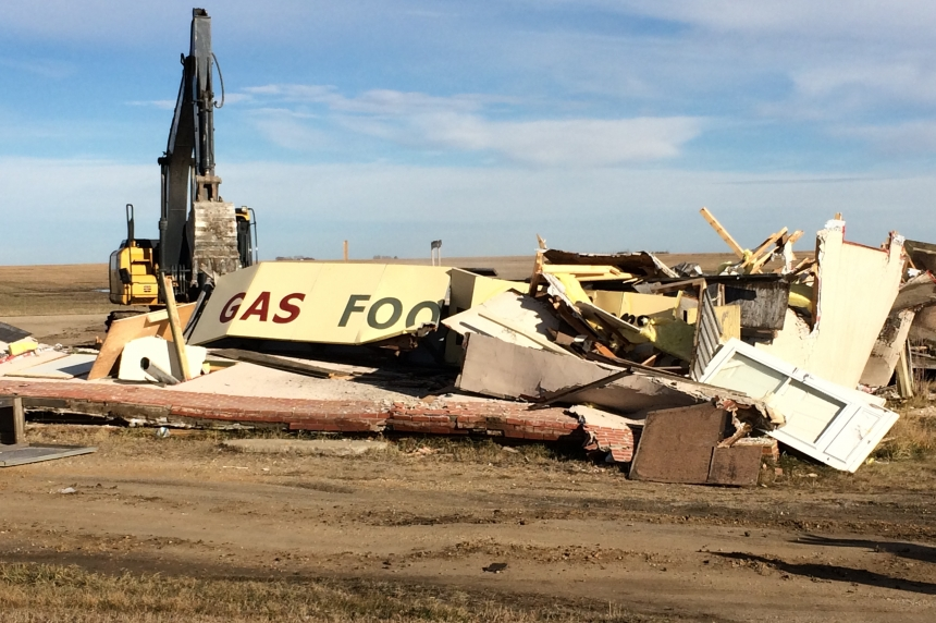 Corner Gas set in Rouleau, Sask. deemed unsafe, torn down