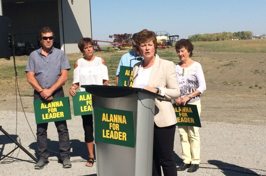 Alanna Koch denies Sask Party leadership debate leak