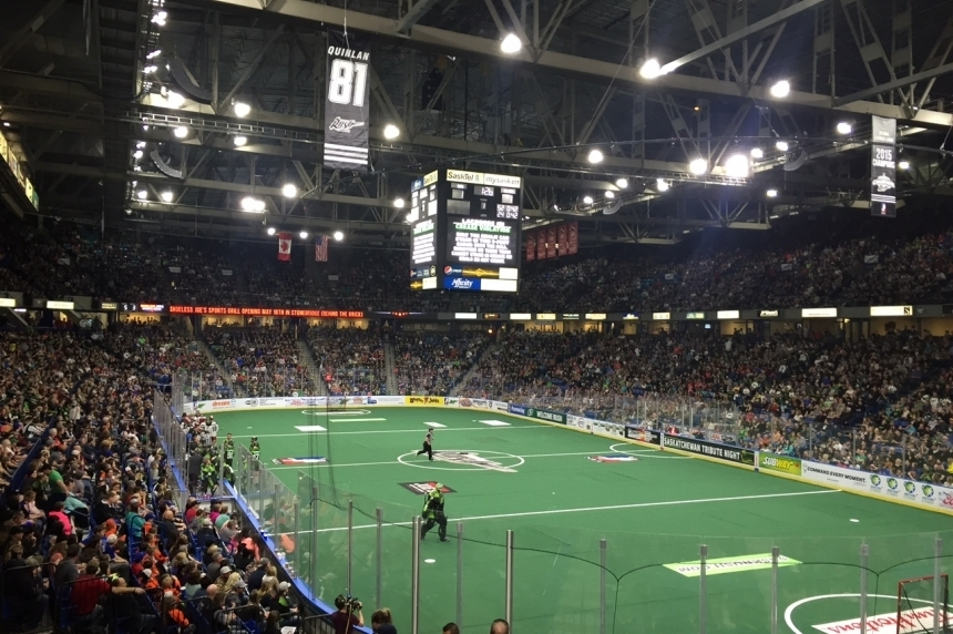 Championship fever grips Saskatoon as Rush go for 3 peat