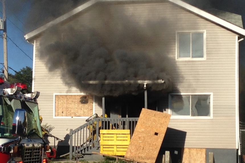 Regina apartment building catches fire for 2nd time since February