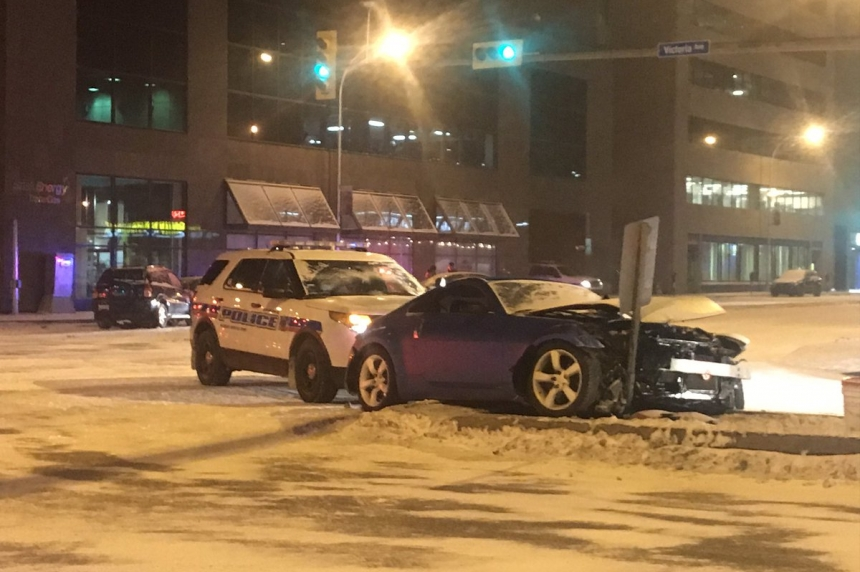 Teen charged after Friday night crash in Regina