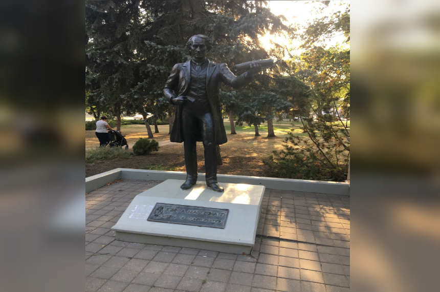 Fougere calls for conversation around Sir John A. statue