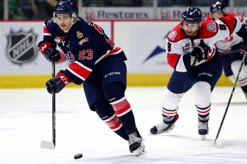 Pats' Sam Steel inks entry level contract with Ducks