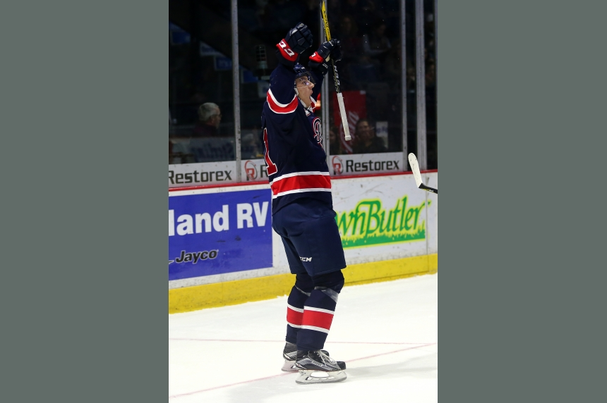 Pats' Filip Ahl scores hat trick in overtime win against Moose Jaw