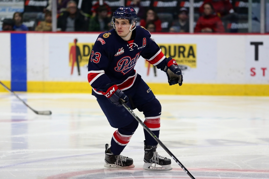 Sam Steel dazzles in 4-goal performance against Swift Current
