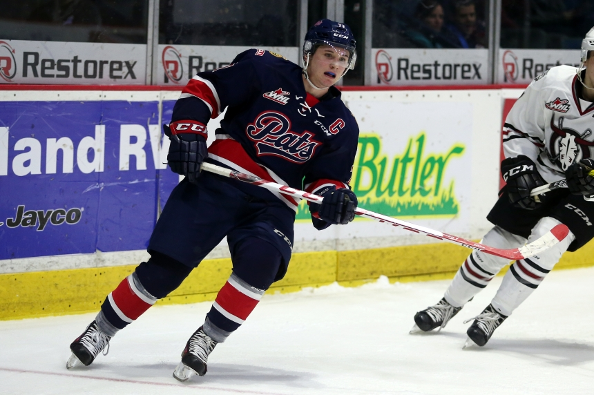 Pats rally after loss to roll over Moose Jaw 7-3
