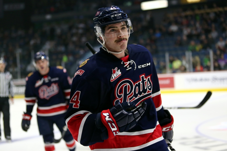 Pats suffer first regulation loss, fall to Victoria 5-3