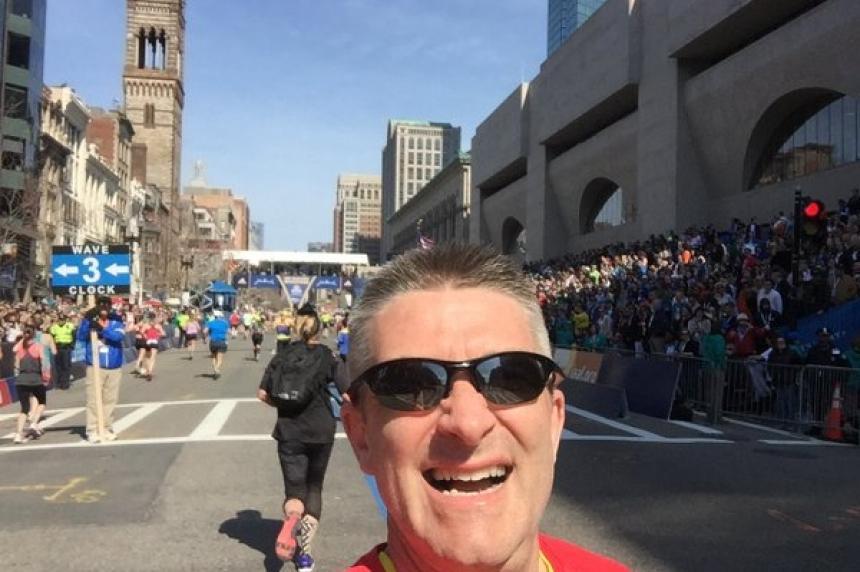 Saskatoon man crosses Boston Marathon off Bucket List