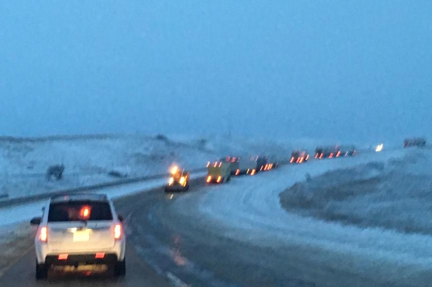 Snowy, slippery roads reported across Saskatchewan