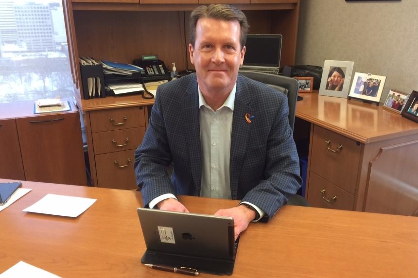 Regina mayor talks stimulus money, refugees and Energy East at Big City Mayors' Caucus