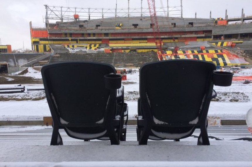 Construction on new Mosaic Stadium heads into final stretch