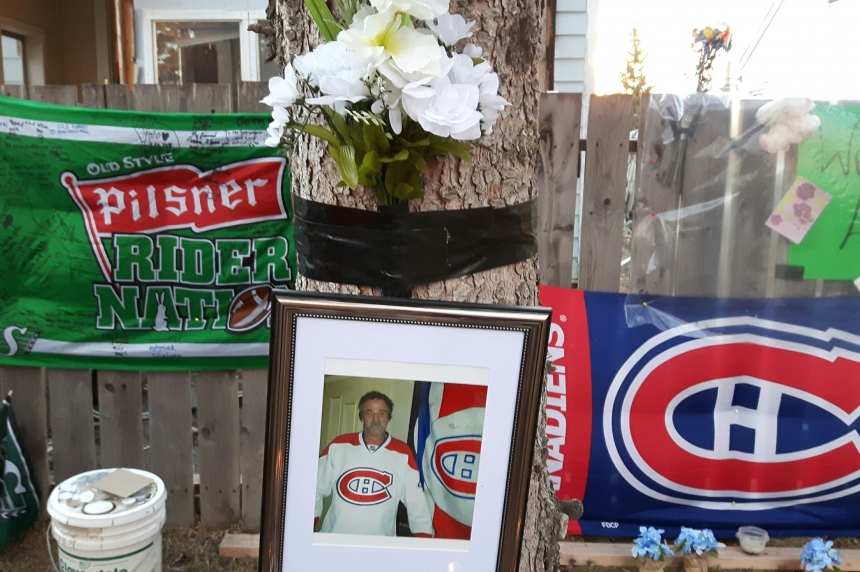 Round dance and barbecue in North Central for murder victim Andre Aubertin