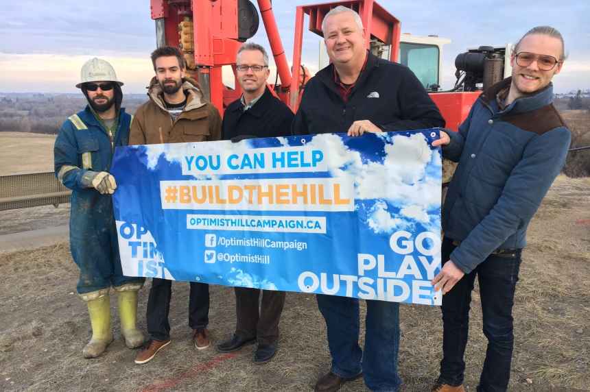 Optimist club closer to dream of turning Diefenbaker hill into winter park