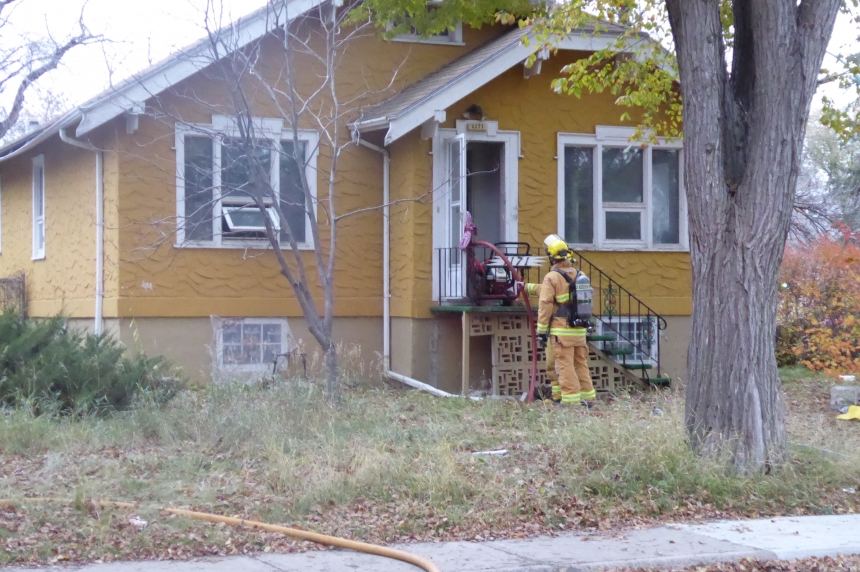 Pets perish in Regina house fire
