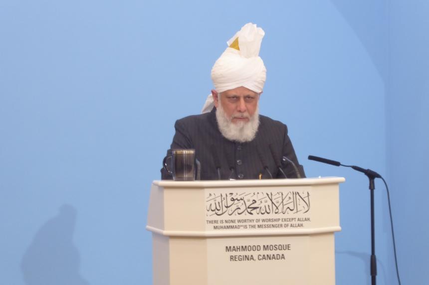 Mahmood Mosque in Regina receives visit from religious leader