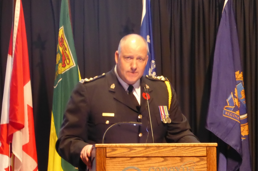 New Regina police chief sworn in