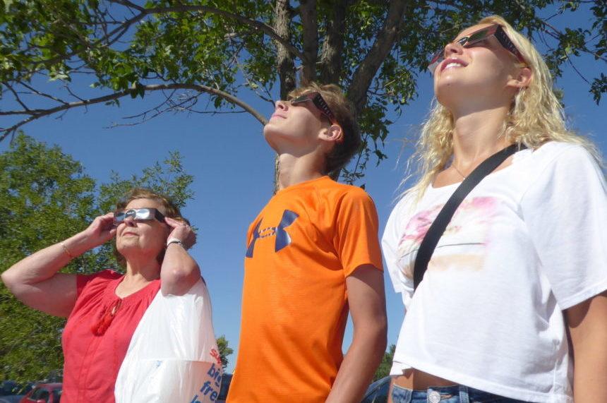 'It's a thrill:' Regina sky watchers marvel at eclipse