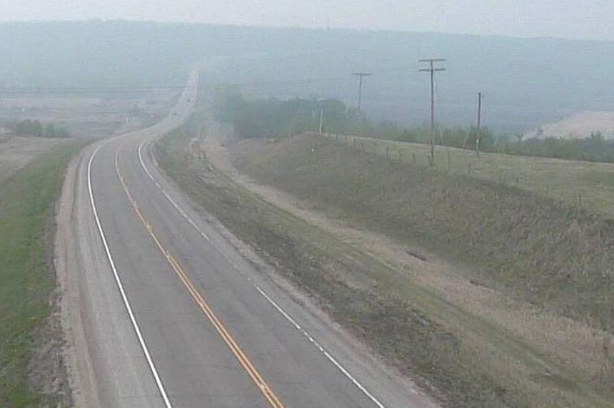 Alberta wildfire smoke making its way into Saskatchewan