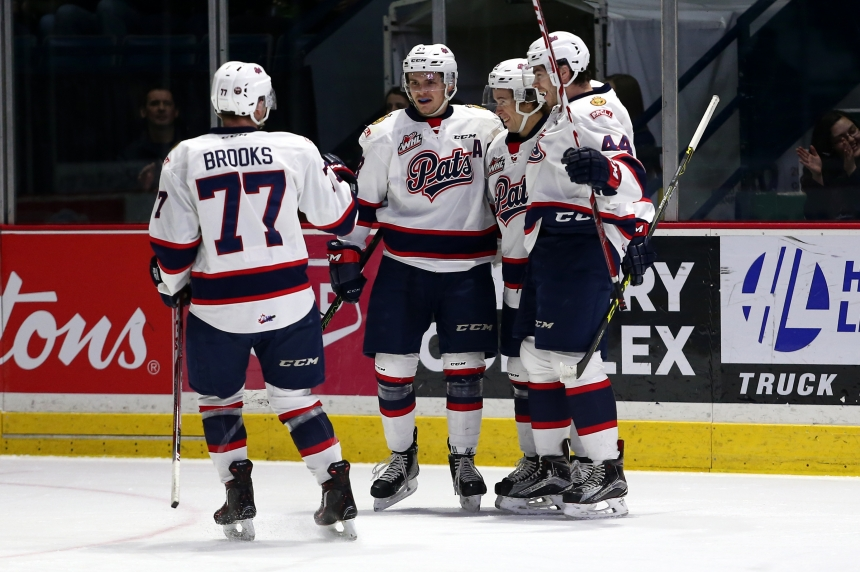 Cole Sanford's hat trick helps end Regina Pats losing streak