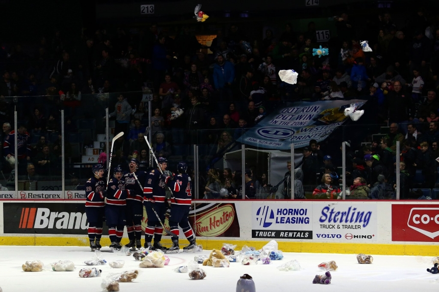 Pats remember their teddy bear toss goals