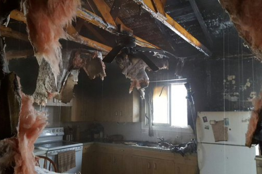 Family pets die in Christmas Eve house fire in Saskatoon