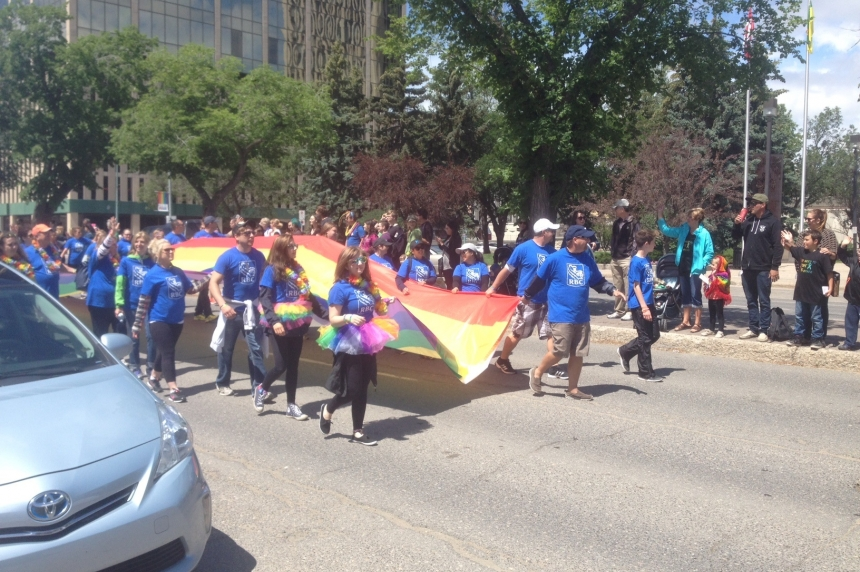 Big crowd takes part in Regina Pride Parade