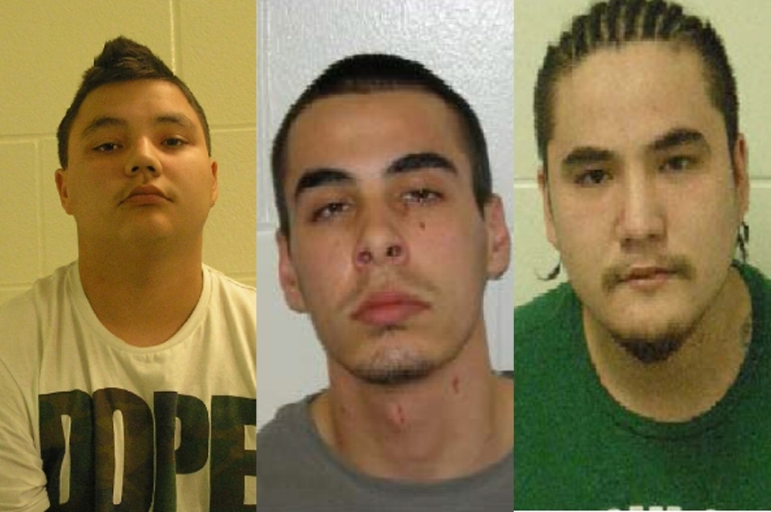 3 Onion Lake men wanted after woman shot in the head arrested