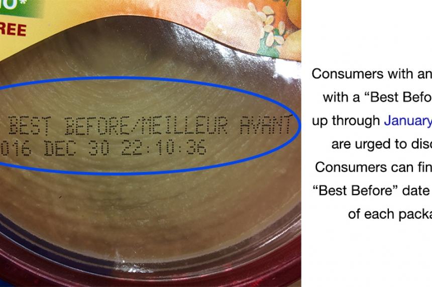 Sabra brand hummus recalled due to listeria concerns
