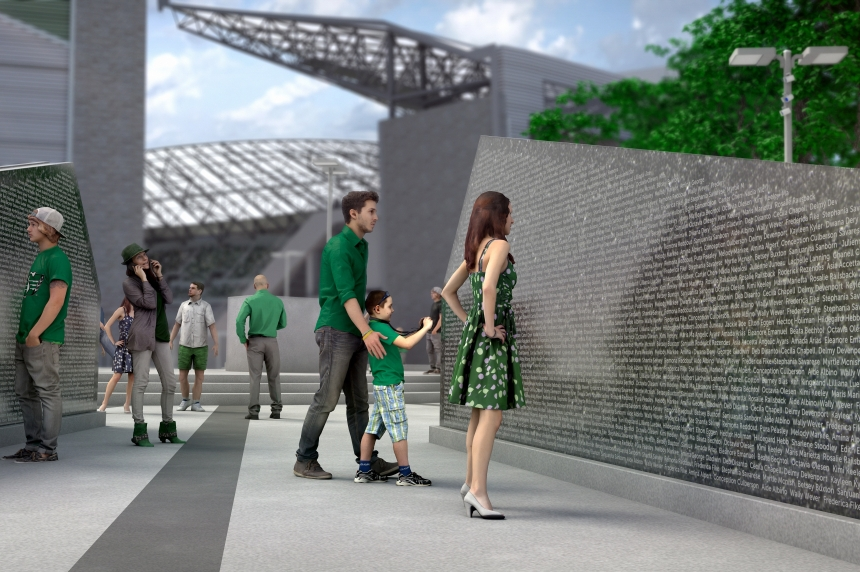 Roughriders announce North East Fan Plaza at new Mosaic Stadium