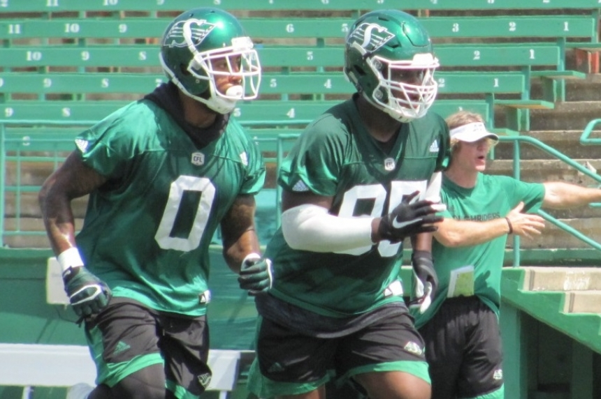 'Everybody eats': new-look Roughrider defensive line bonded and ready to play