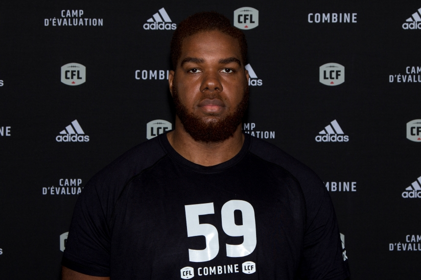 Roughriders select offensive lineman Josiah St. John first overall