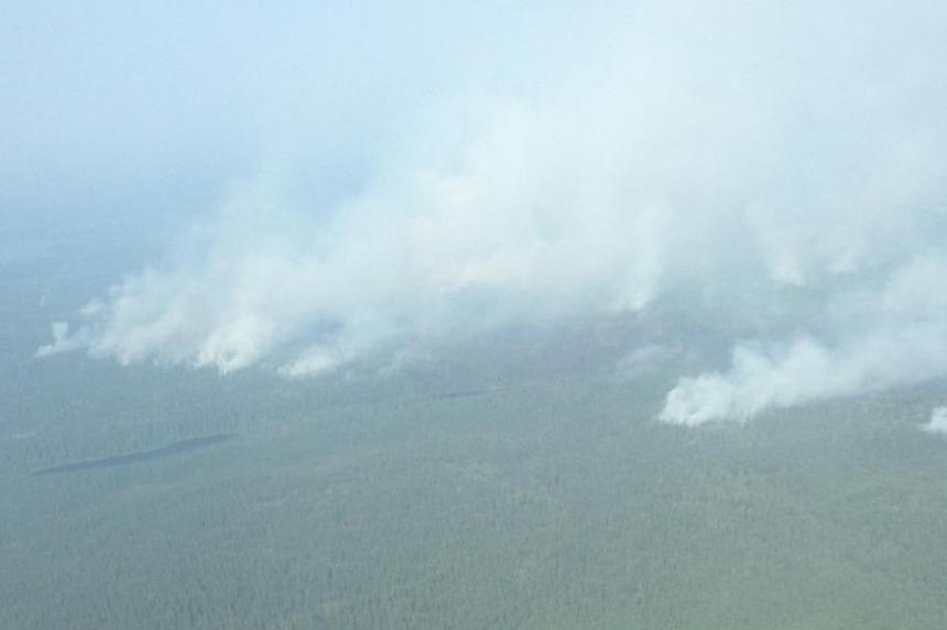 Sask. pilot getting bird's-eye view of wildfires