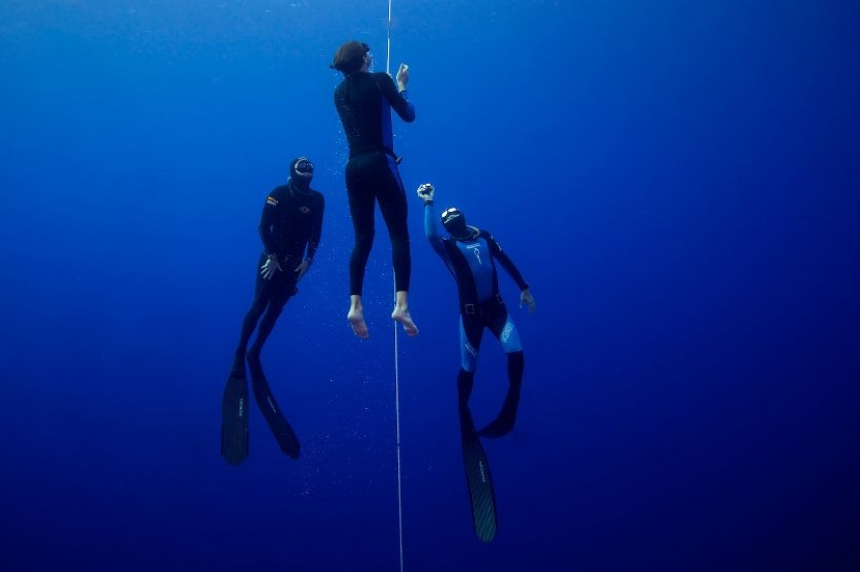 Prince Albert-born free diver makes the impossible possible