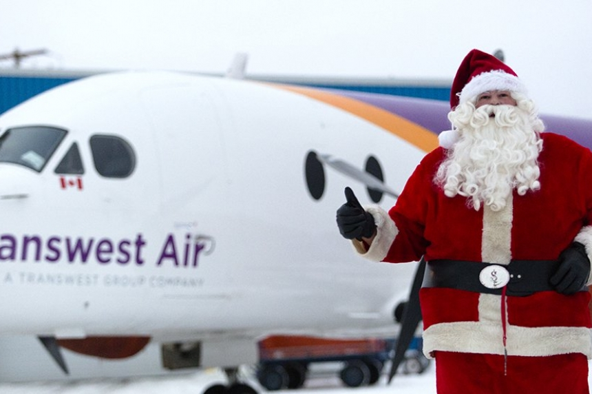 Transwest Santa flight takes off for 16th year