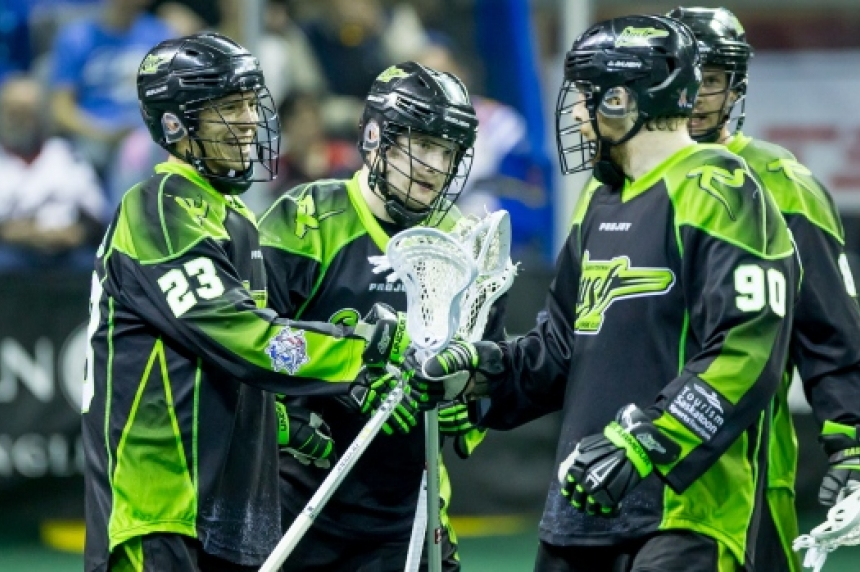 Defending champion Rush win Game one of NLL final