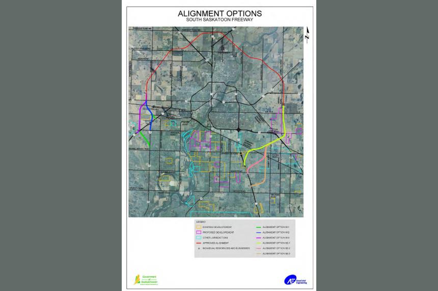 Saskatoon perimeter highway plans change, price still in the billions