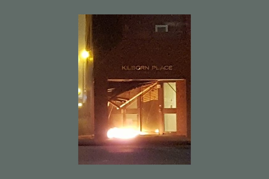 Saskatoon police urge public vigilance after explosion outside courthouse