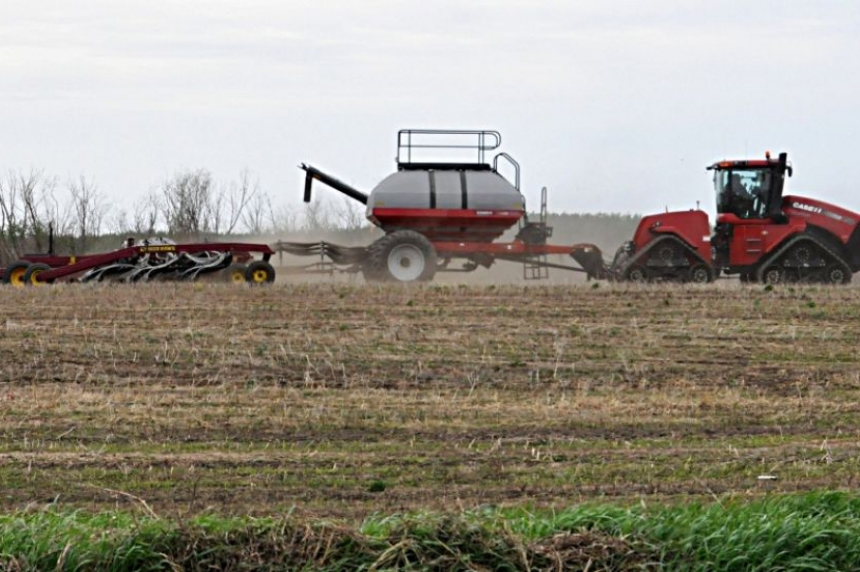 Spring seeding on track in P.A. and Melfort area