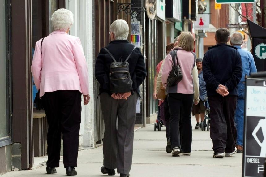 Saskatchewan bucks national trend on aging population