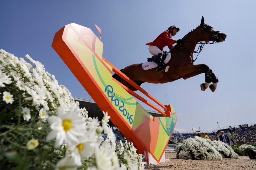 Eric Lamaze and mare Fine Lady 5 win bronze medal in Olympic equestrian