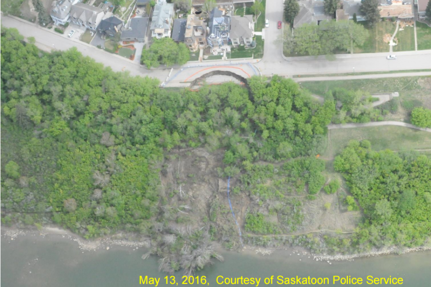 MVA approves city plan to fix slope failure at Sask. Crecent and 16th Street East