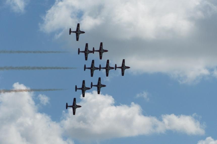 Airshow returns to Moose Jaw after 14-year hiatus
