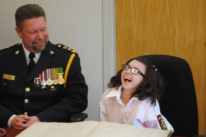P.A. girl named police chief for a day
