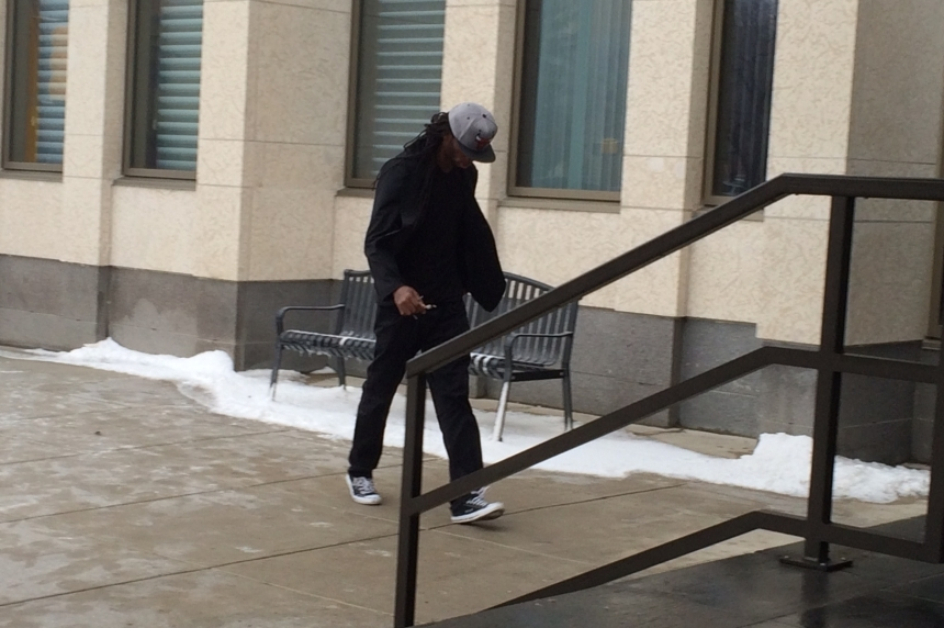 Assault charges stayed against former Roughrider Taj Smith