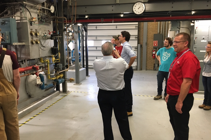 Trudeau tours Sask. Polytechnic to tout skills training investment